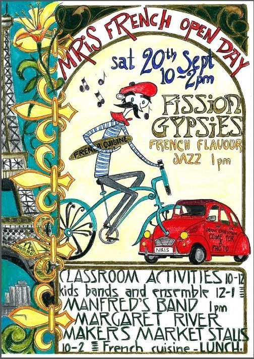 open day flyer-French