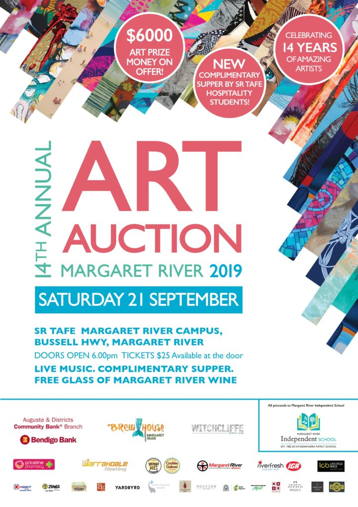 14th Annual Margaret River Art Auction @ Margaret River TAFE